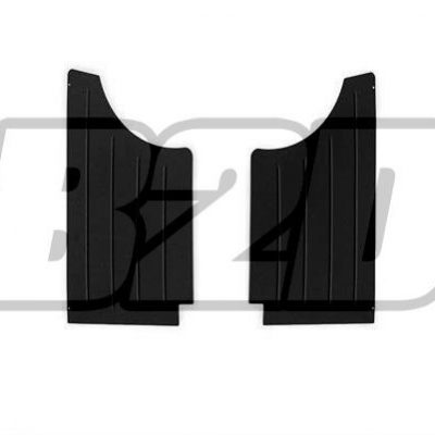 BMW E30 COUPE Rear Door Panels Aluminium  0090