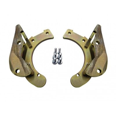 BMW E46 330 DUAL CALIPER BRACKET KIT (Bolt On)