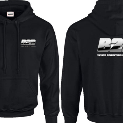 B2D Hooded Sweatshirt (M)
