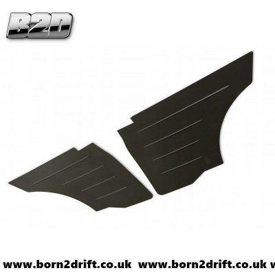 BMW E36  Rear Aluminum Door Panels