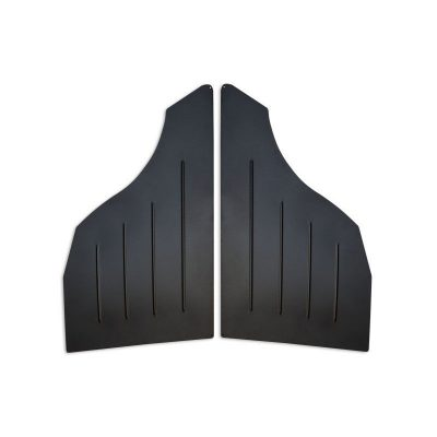 BMW E46 COUPE Rear Door Panels Aluminium