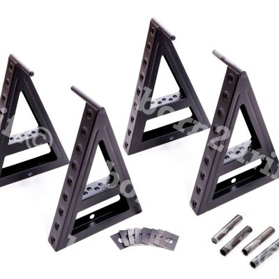 Professional WRC Race & Rally Car Sill Stands Set with Welding Kit